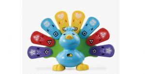 John Lewis and Partners top toys Christmas - Vtech Feathers & Feelings Peacock £22