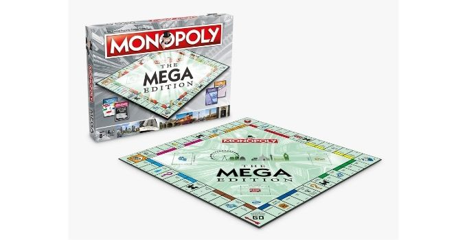 John Lewis and Partners top toys - Monopoly Mega Edition Exclusive £25.99