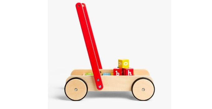 John Lewis and Partners top toys - Wooden Walker £45