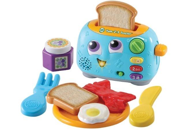 Christmas Gift Guide Kids 2020: LeapFrog Yum 2-3 Toaster