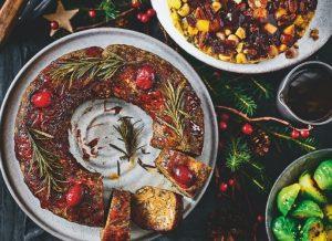 Marks and Spencer Christmas 2020 - Plant Kitchen Vegan festive wreath