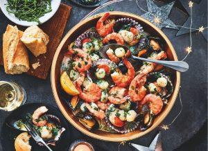 Marks and Spencer Christmas 2020 - Seafood Rockpool platter