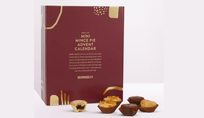 Selfridges Selection Mini Mince Pie Advent Calendar £39.99