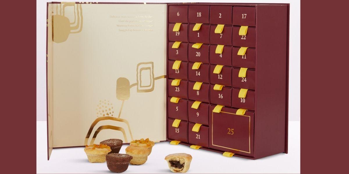 Selfridges Selection Mini Mince Pie Christmas Advent Calendar