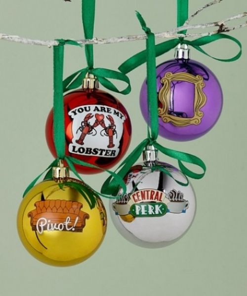 Studio Friends 4-Piece Bauble Set