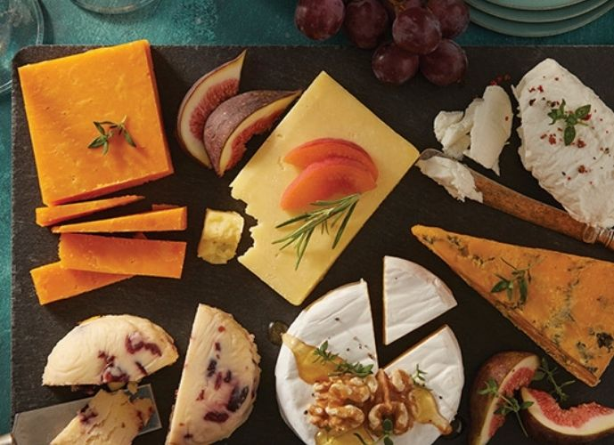 Morrisons The Best Christmas Slate Cheeseboard