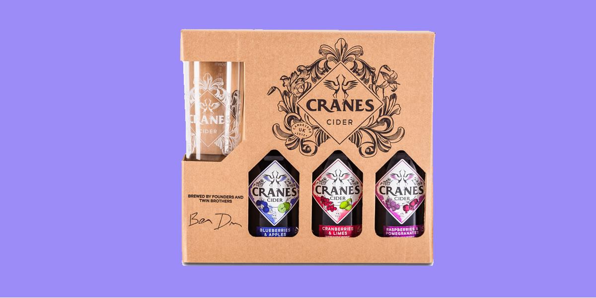 Cranes Cider Gift Set