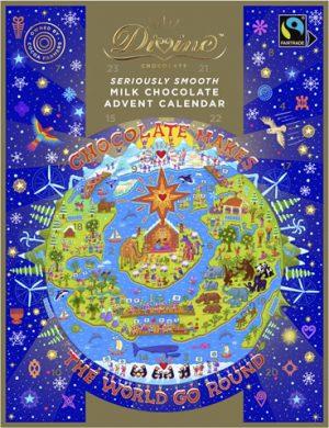 Image Of Divine Chocolate Advent Calendar