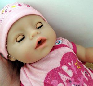 Image Of Baby Born Doll Sleeping