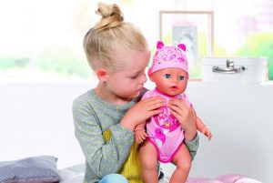 Image Of Baby Born Soft Touch Doll Zapf