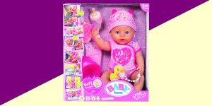 Image Of Baby Born Soft Touch Girl Doll