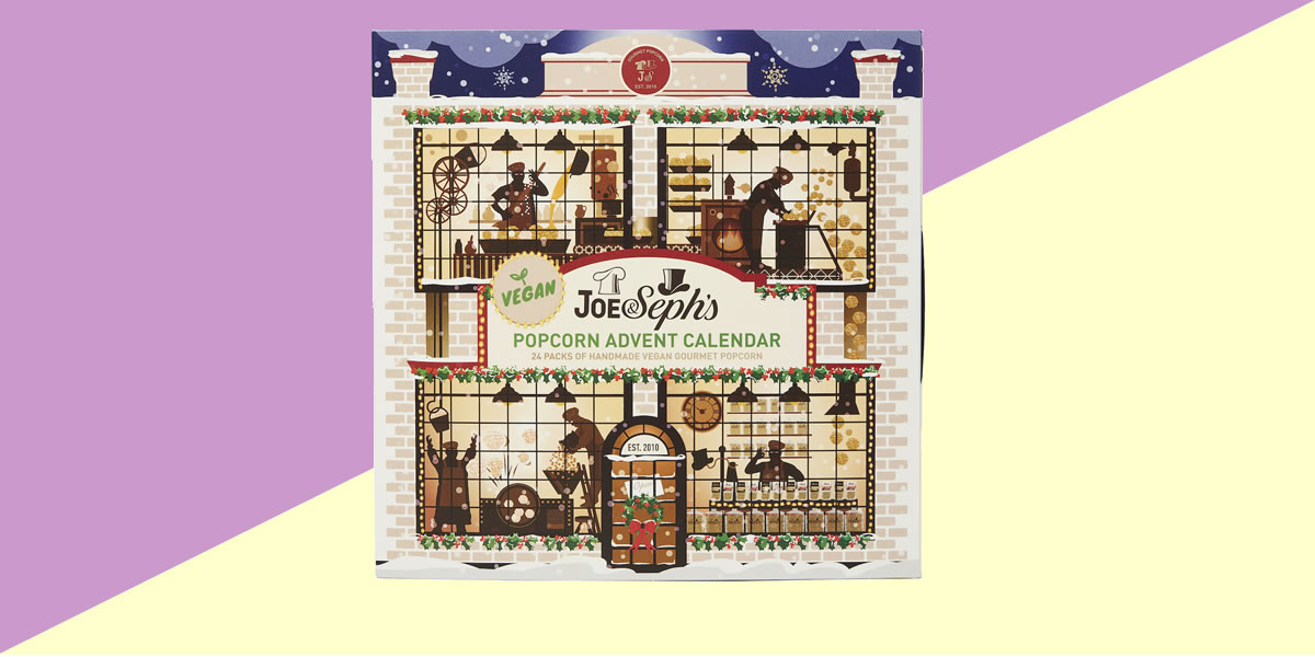 Image Of Joe And Sephs Vegan Gourment Popcorn Advent Calendar