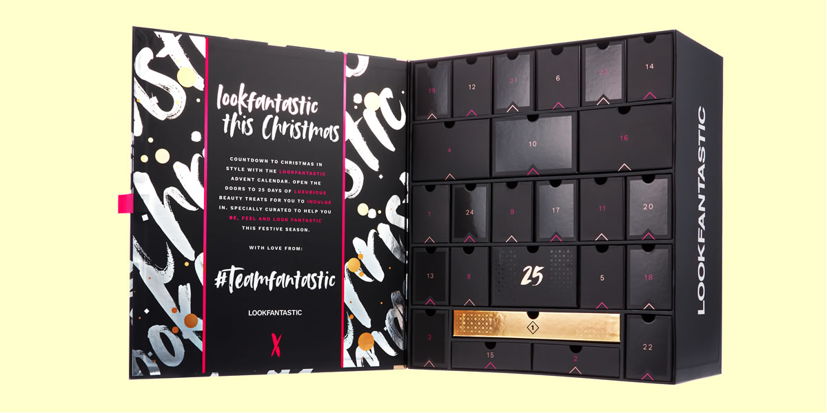Image Of Lookfantastic beauty advent calendar