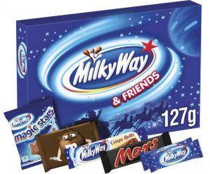 Image Of Mars Milky Way Selection Box
