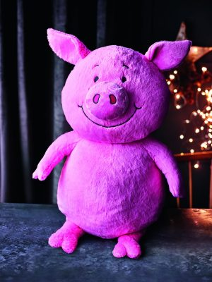 Image Of M&S Percy Pig Toy