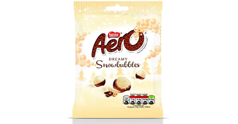 Image Of Nestlé Aero Snowbubbles