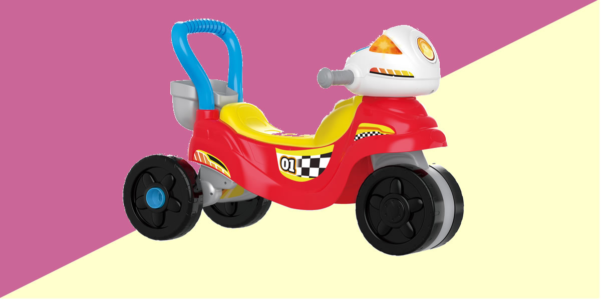 Image Of VTech Ride With Me Motorbike
