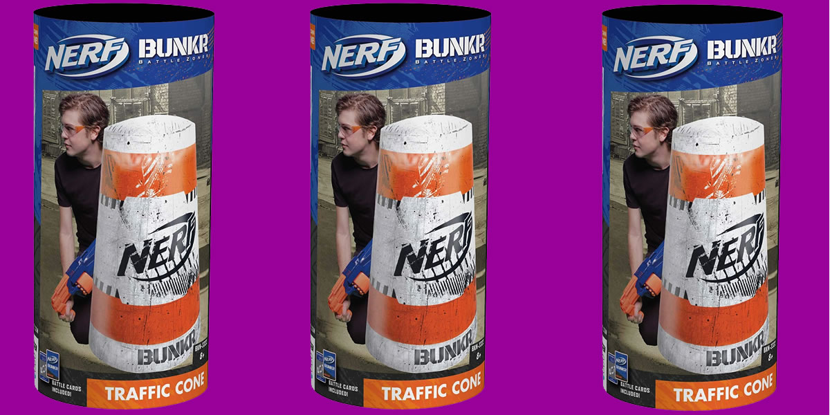 Nerf Bunkr Inflatable Cones