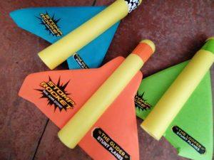 Stomp Rocket 3 Stunt Planes