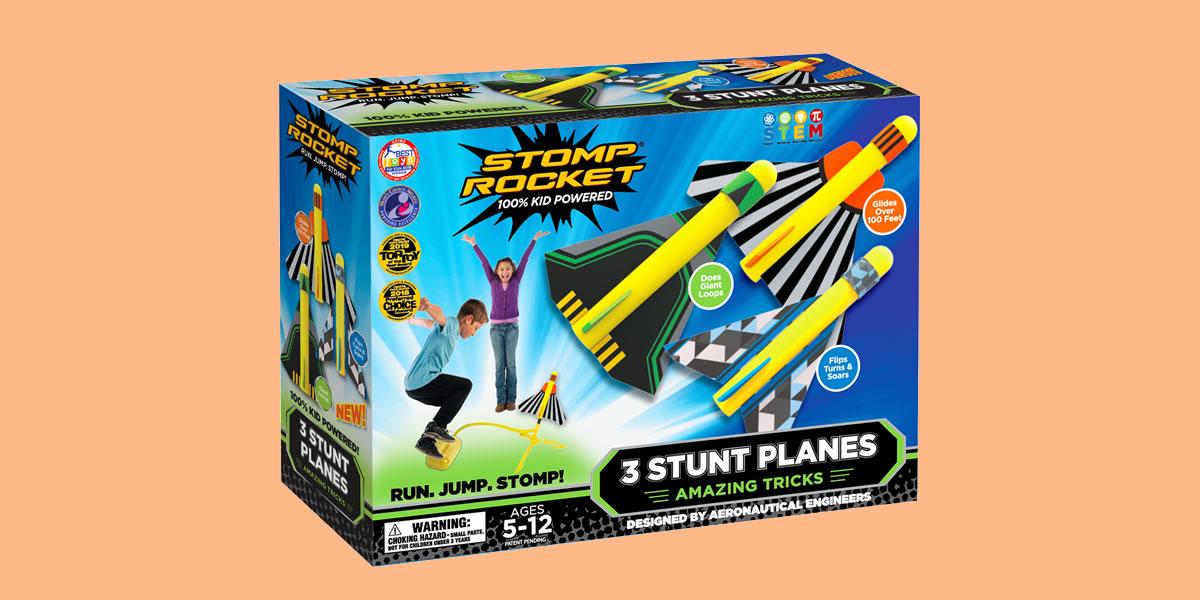 Stop Rockets 3 Stunt Planes Game