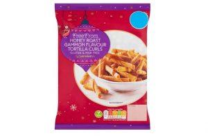 Sainsbury's Christmas 2020: Free From Honey Roast Gammon Flavoured Tortilla Curls