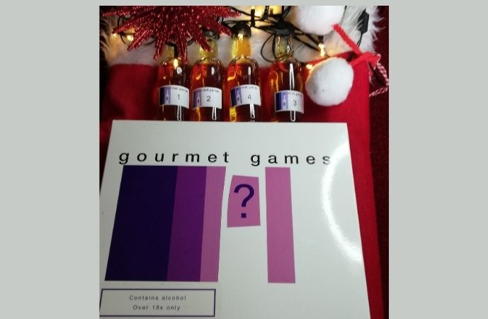 Gourmet Games -Small Whisky Tasting Game - Unboxed