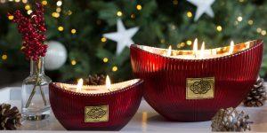Johnson and White Armoas Limted Edition Aspen Christmas candle