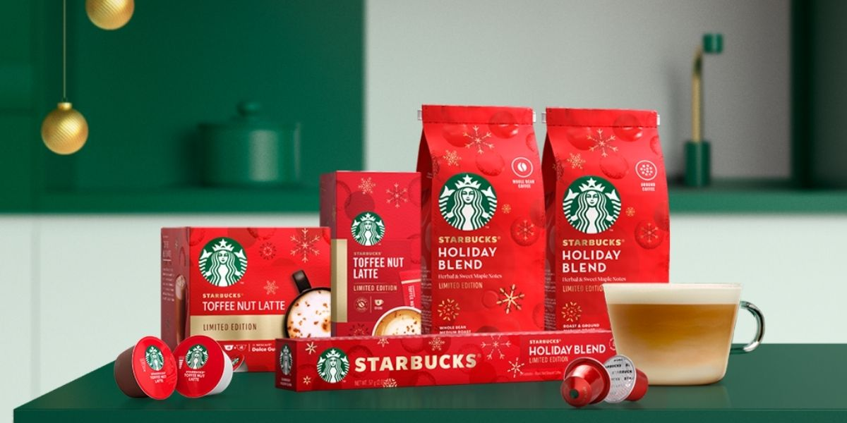 Nestlé Starbucks Toffee Nut Latte and Holiday Blend