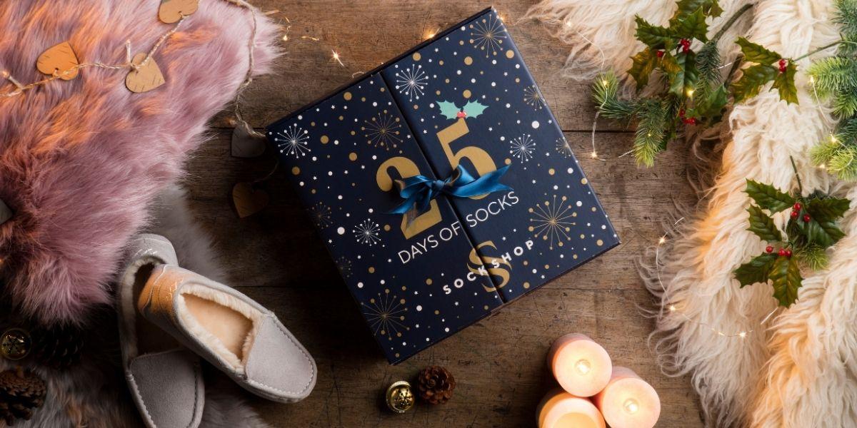 SOCKSHOP Ladies 25 Days of Socks Advent Calendar 2020