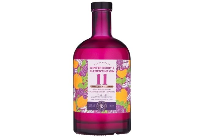Sainsbury's Christmas 2020: Taste the Difference Blackfriars Winterberry & Clementine Gin