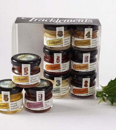 Tracklements 9-Jar Mini Gift Set