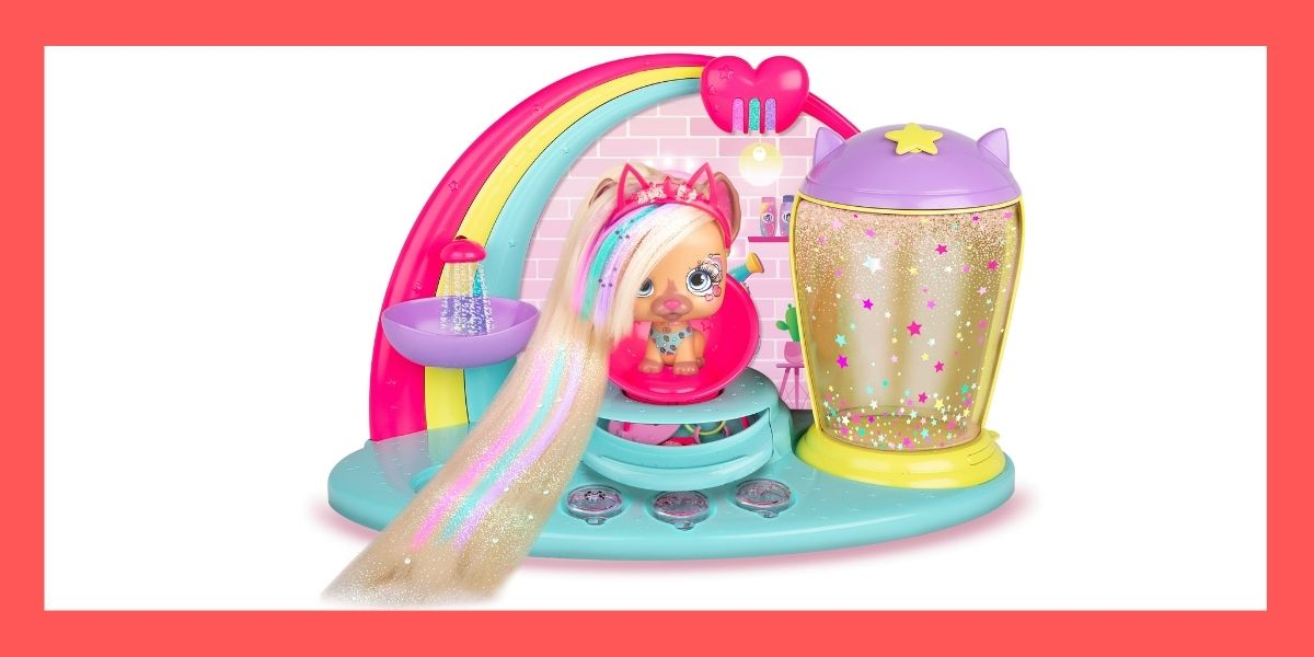 VIP Pets Fabio & Fabia's Hair Salon Playset