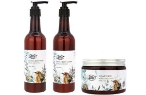 Woodland Citrus bodycare from Live in the Light Set
