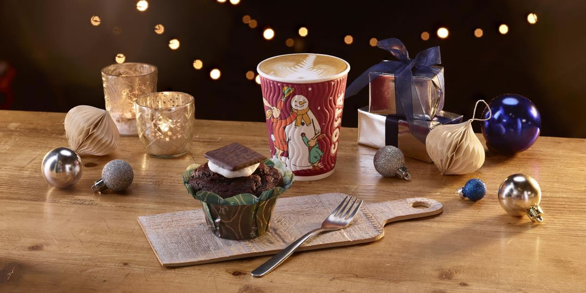 Costa Coffee After Eight Muffin