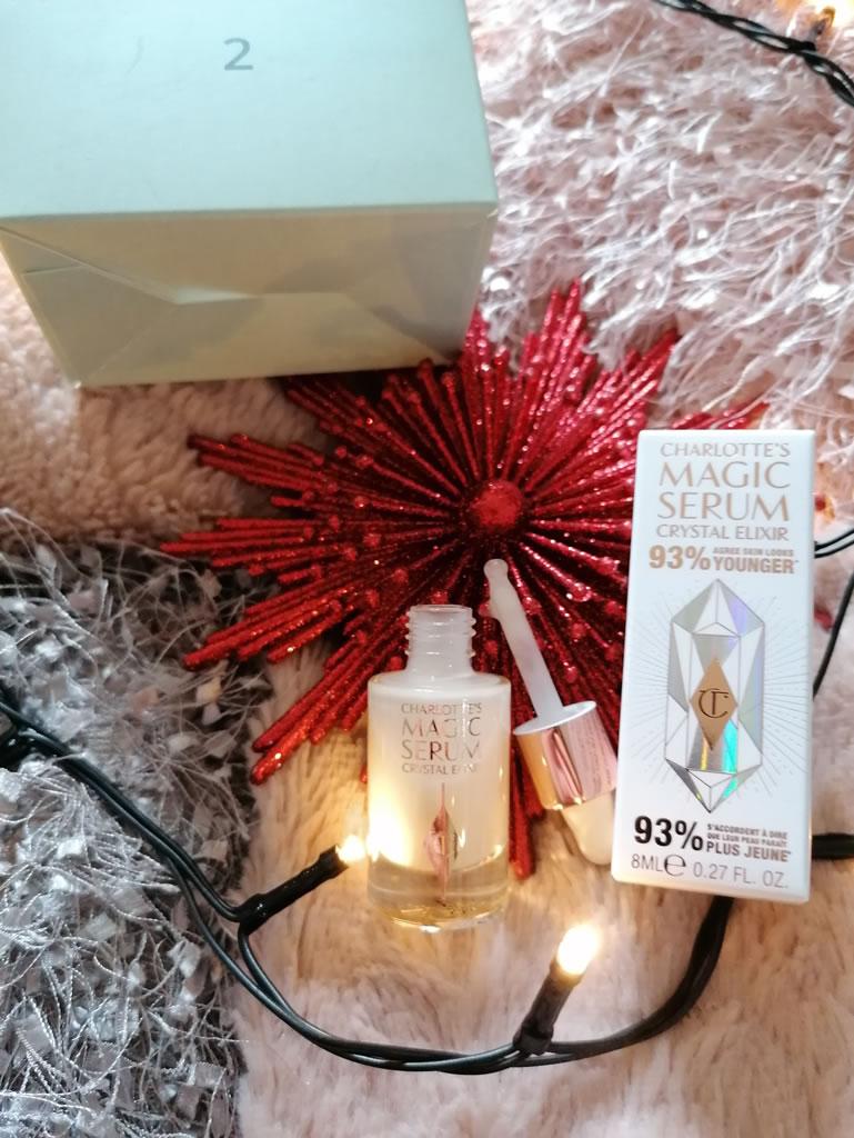 Feelunique beauty advent calendar Charlotte Tilbury serum