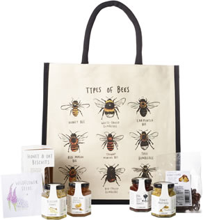 For the Love of Honey Hamper tote by Lakeland