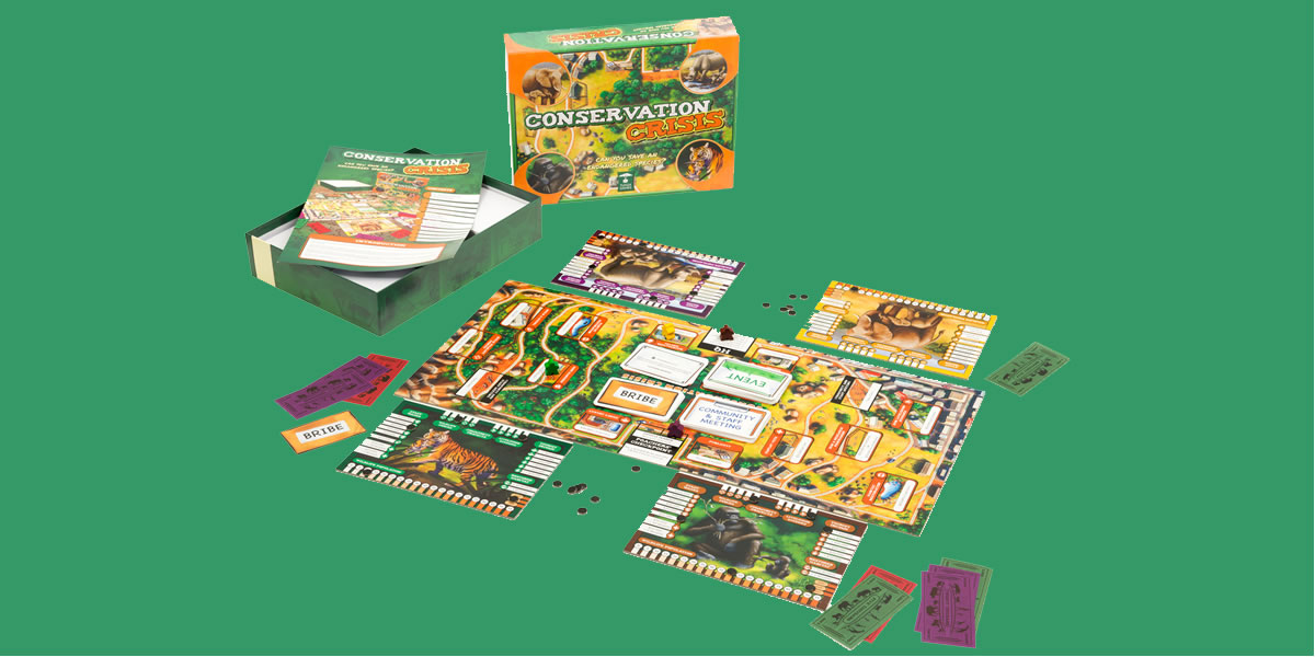 Image Of Conservation Crisis Board Game