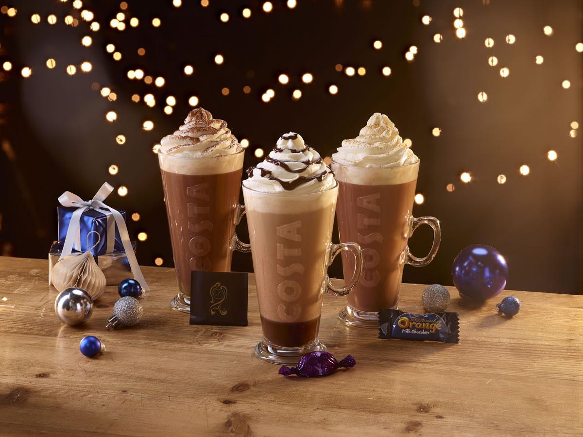 Image of Costa Coffee hot chocolate