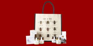 Image of For the Love of Honey Hamper Tote by Lakeland
