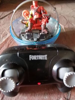 Image Of Fortnite RC The Baller Remote, Vehicle And Figure