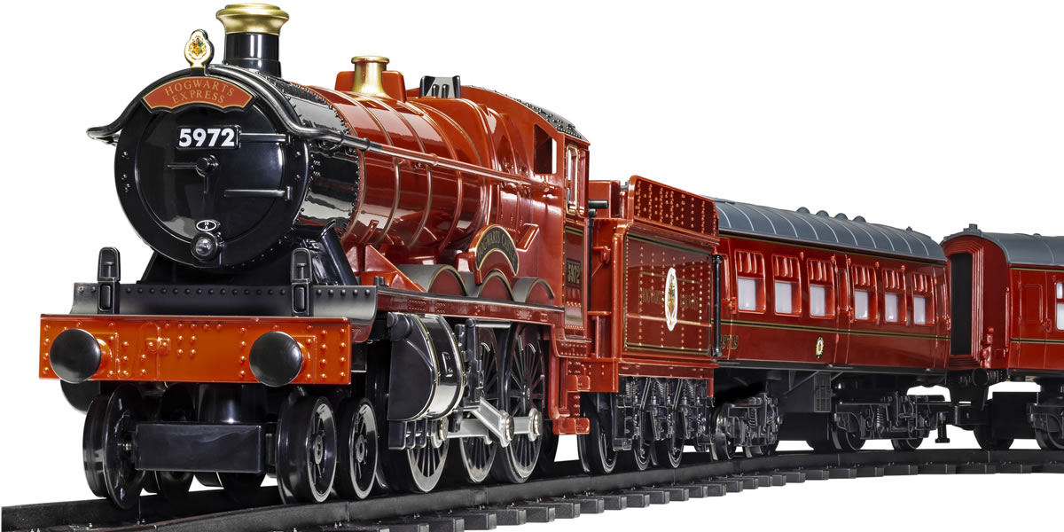 Image of Hornby Hogwarts Express Remote Controlled Train Set