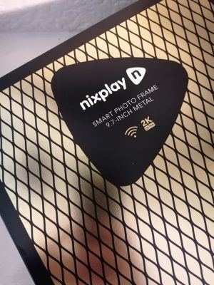 Image Of Nixplay Smart Photo Frame Packaging
