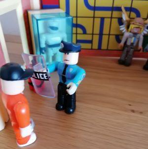 Image of Roblox jailbreak heist figures