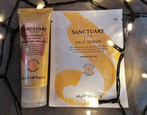 Image Of Sanctuary Spa Showstopper Salt Scrub And Moisturiser