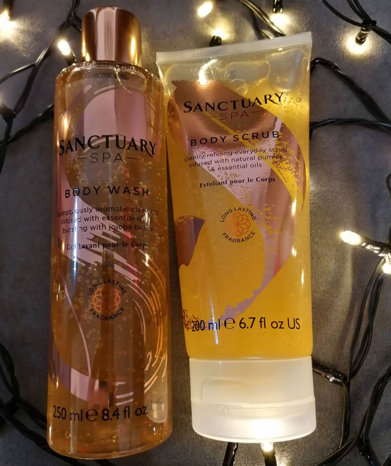 Image Of Sanctuary Spa Showstopper Scrub And Body Wash
