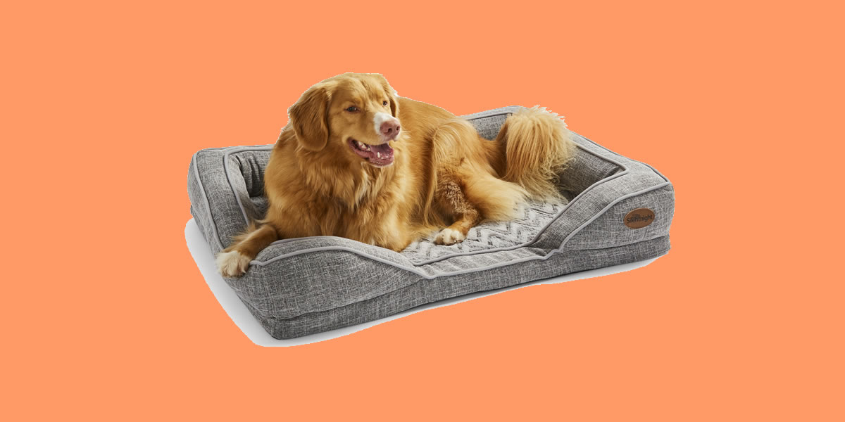 Image Of Silent Night Orthopaedic Pet Bed