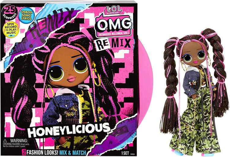 L.O.L Surprise! O.M.G. Remix Honeylicious Fashion Doll