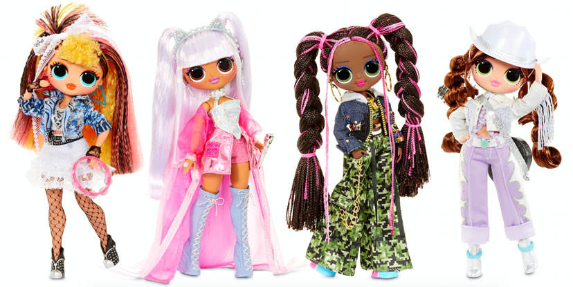 Image of L.O.L. SURPRISE! Remix O.M.G. Fashion Dolls Assortment