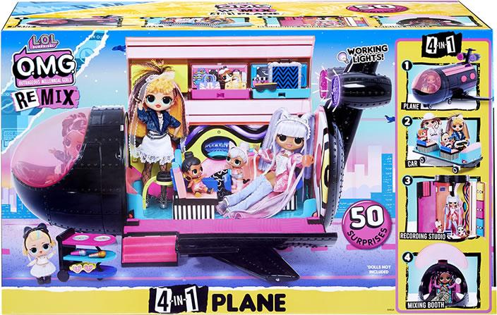 L.O.L. Surprise! OMG Remix Plane