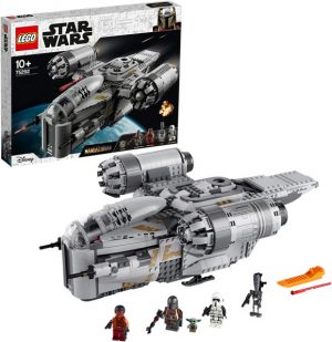 LEGO 75292 Star Wars The Mandalorian Bounty Hunter Transport Starship Toy